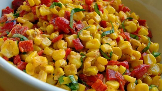 Corn Salad with Creamy Italian Dressing