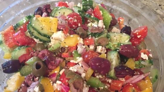 Easy greek recipes salad
