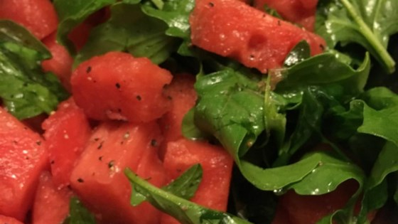 Arugula and Watermelon Salad