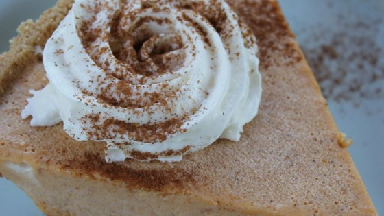 Easy Freezy Pumpkin Pie