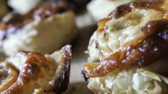 Prosciutto and Parmesan Pinwheels