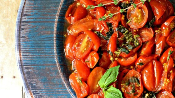 Oven Roasted Grape Tomatoes