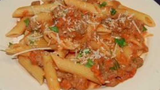 how to make penne vodka cream sauce