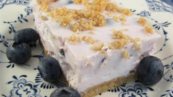 Blueberry Cream Dessert