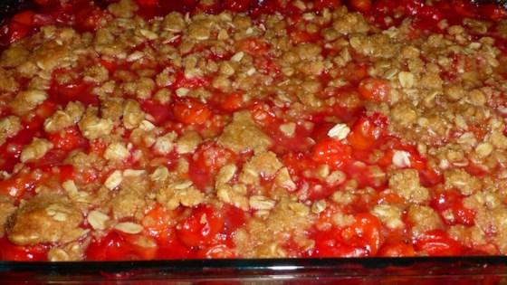Jill's Cherry Crisp