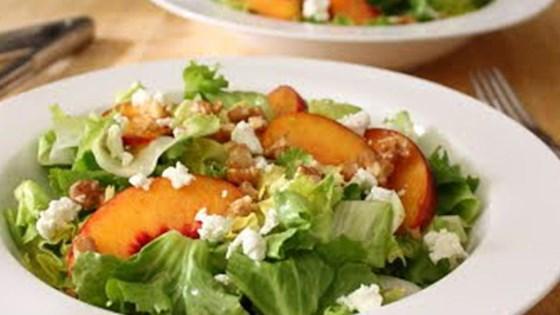 Peach and Escarole Salad