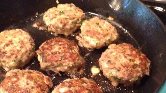 German Hamburgers (Frikadellen)