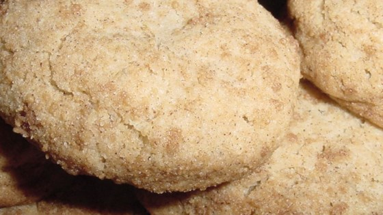 Lauren's Sugar and Spice Black Pepper Cookies