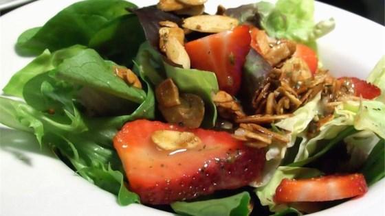 Strawberry Salad with Shallot-Honey Vinaigrette