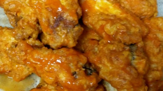 how to cook hot wings in deep fryer