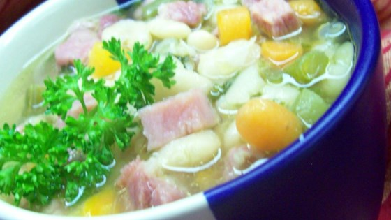 Ham and Lima Bean Soup