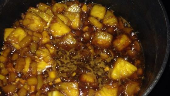 Peach-Mango-Habanero Wing Sauce