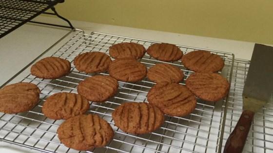 Healthier Big Soft Ginger Cookies