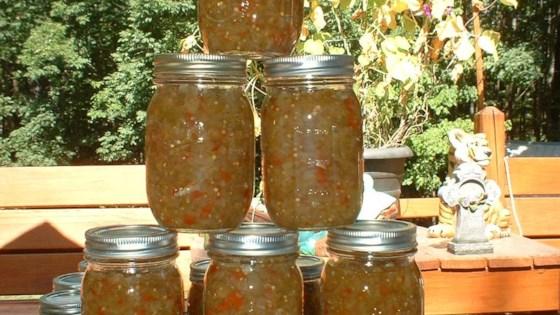 Green Tomato Relish Recipe Allrecipes Com