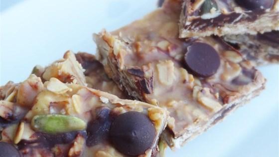 PB Chocolate Trail Mix No-Bakes