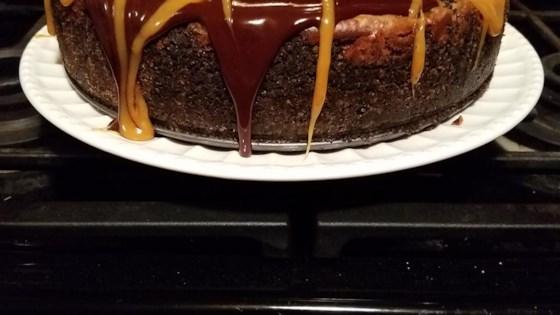 Chocolate Caramel Cheesecake Recipe Allrecipes Com