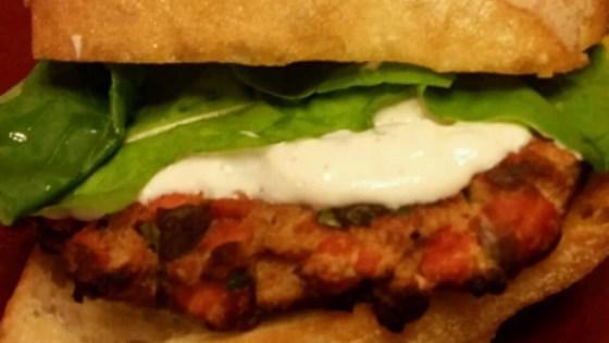 Fresh Salmon Burgers with Lemon-Yogurt Sauce Recipe - Allrecipes.com