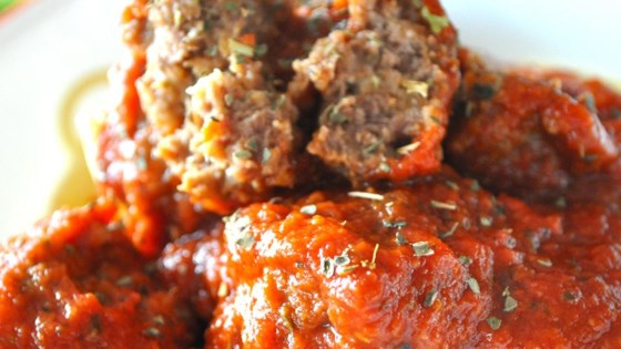 Meatball Nirvana Recipe - Allrecipes.com