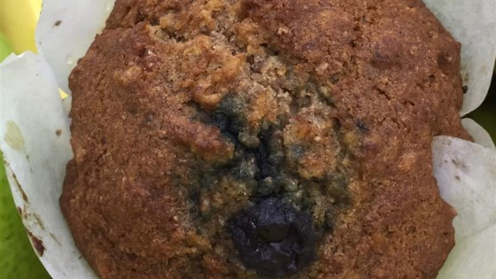 Whole Wheat Blueberry Beet Muffins