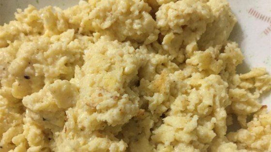 Curry Cheddar Scrambled Eggs Recipe - Allrecipes.com