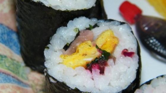 Kimbop (Korean Sushi)