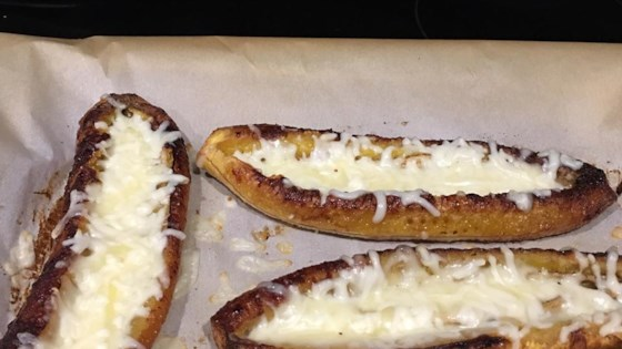 Baked Plantain with Cheese