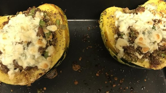 Autumn Stuffed Acorn Squash