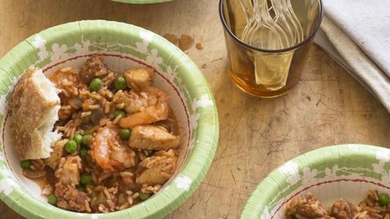 One Dish Jambalaya