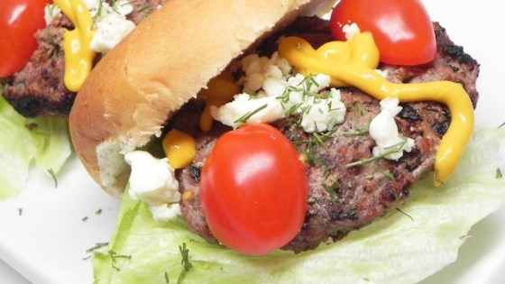 Low Carb Lamb Burgers
