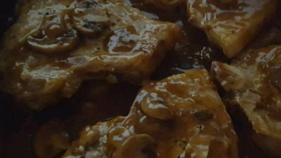 Pork Chops in Mushroom Gravy