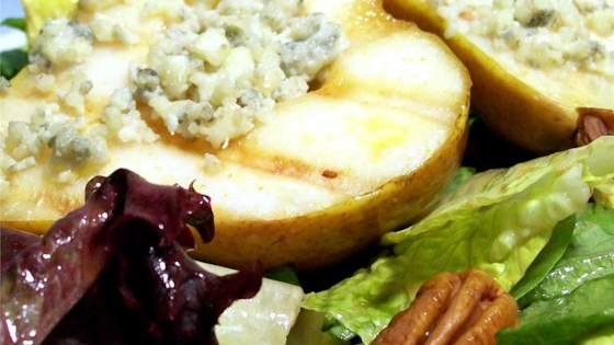 Grilled Blue Cheese Pears