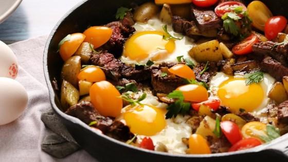 Steak and Egg Hash Recipe - Allrecipes.com