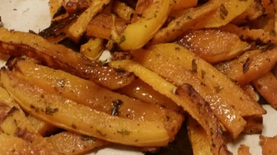 Healthier Butternut Squash Fries