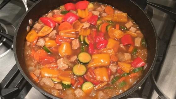Honey Pork Oriental
