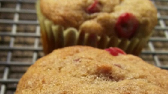 Edna's Banana Cranberry Muffins