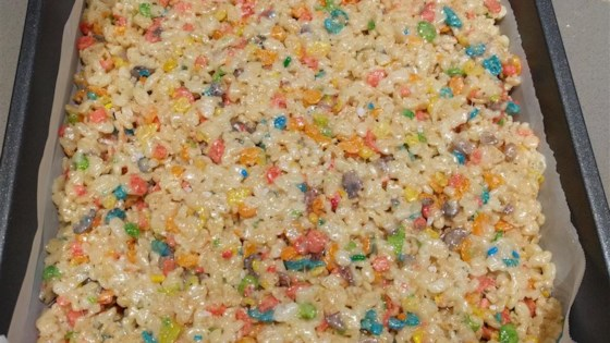 Funfetti® Cake Batter Rice Krispies® Treats