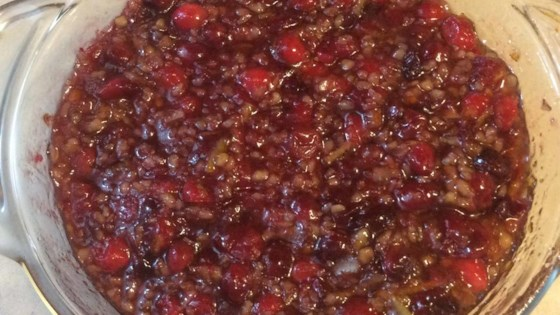 Cranberry Walnut Relish I