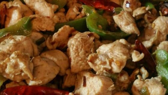 Fiery Pepper Chicken