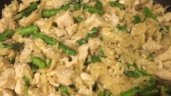 Risotto with Chicken and Asparagus Recipe - Allrecipes.com
