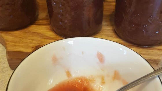 Rhubarb Ginger Jam