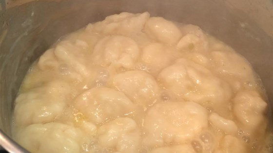 Beginner Chicken and Dumplings