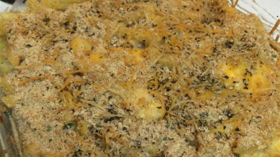 Easy Baked Mac-N-Cheese