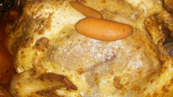 Healthier Baked Slow Cooker Chicken