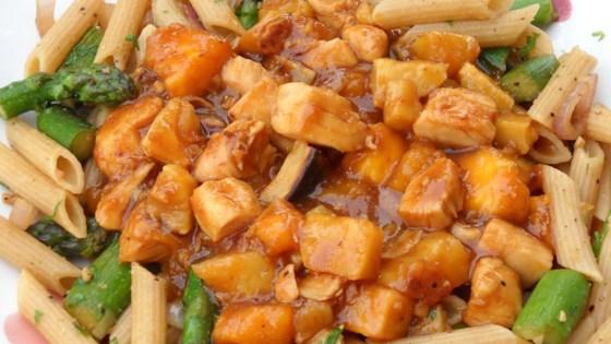 Spicy Mango Sweet Potato Chicken