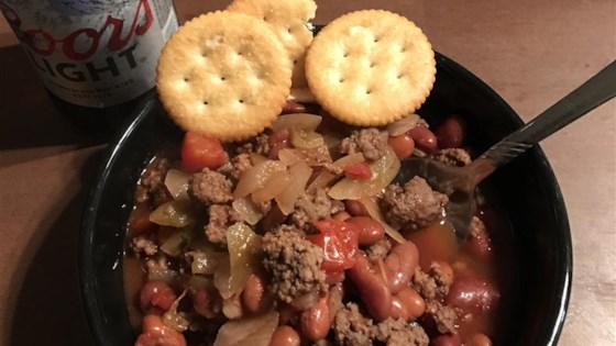 Slow Cooker Chili with Beer