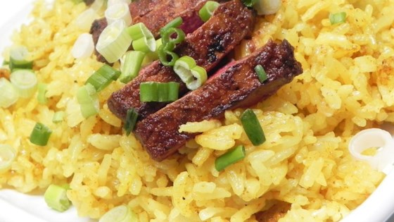Duck and Yellow Rice