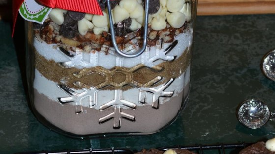 Chocolate Cookie Mix in a Jar
