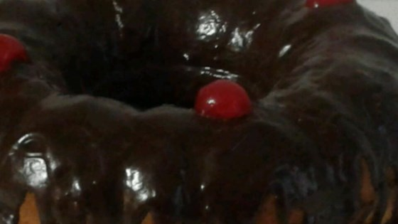 Mom's Chocolate Pound Cake