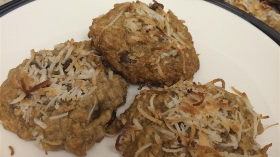 Oatmeal Chocolate Coconut Chewy Recipe - Allrecipes.com