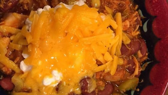 Super Easy Chicken Chili